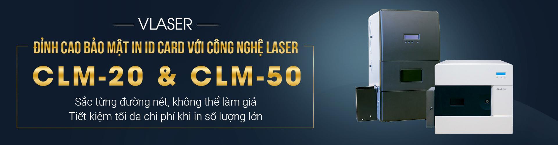 Máy laser in thẻ bảo mật